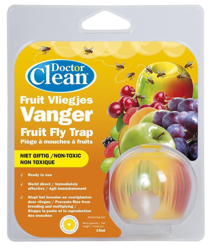 Doctor Clean Fruitvliegjes vanger 1st
