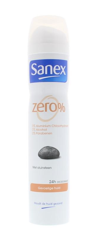 Sanex Deodorant Deospray Zero Sensitive Skin 150ml