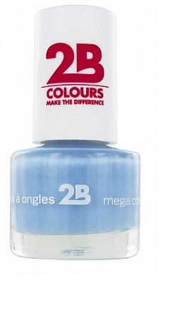 2b Nagellak mini 027 powder blue 1st