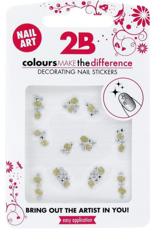 2b Nail sticker 06 gem stone special 1st