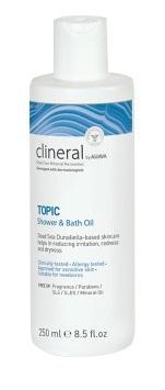 Ahava Clineral topic shower bath oil 250ml