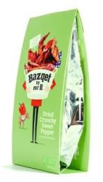 bazqet Dried crunchy sweet pepper 20gr