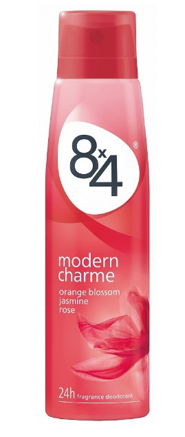 8X4 Deospray deo spray modern charme 150ml