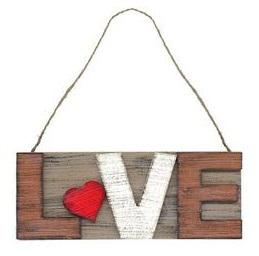 Drogist.nl Letters van hout love 1st