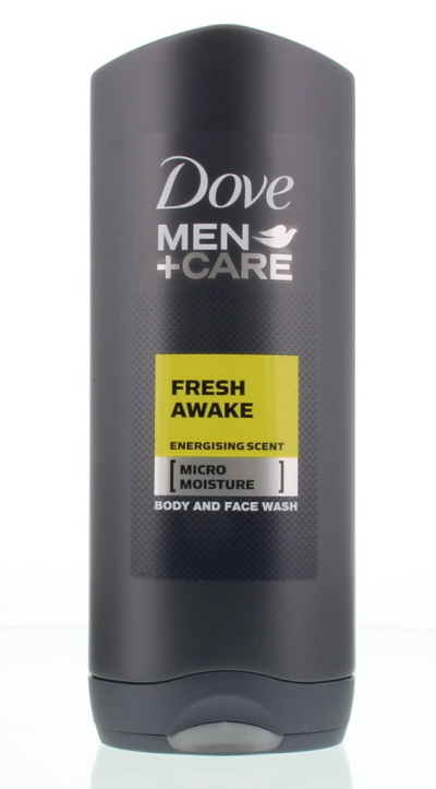 Dove Men+Care Showergel Body And Face Fresh Awake 400ml