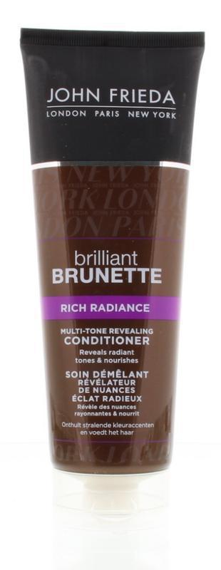 John Frieda Brilliant Brunette Conditioner Rich Radiant