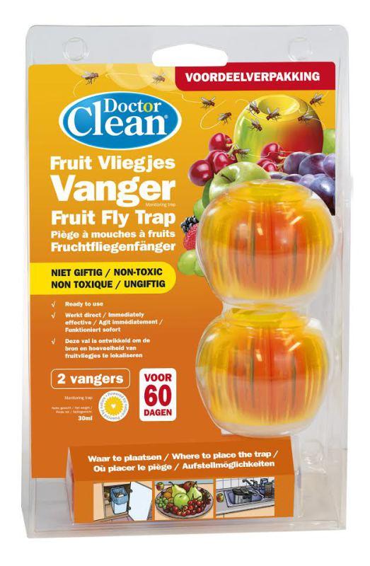 Doctor Clean Fruitvliegjes vanger 2st