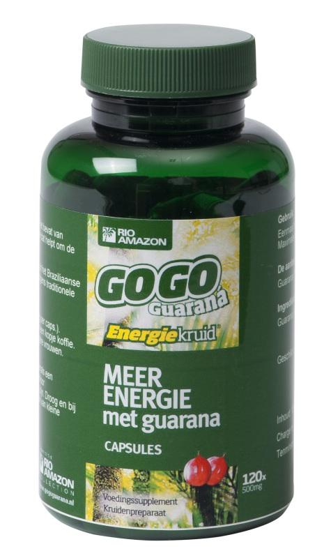 Rio Amazon Gogo guarana 500mg 120vc