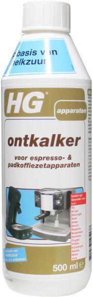 HG Ontkalker espresso padkoffieapparaat 500ml