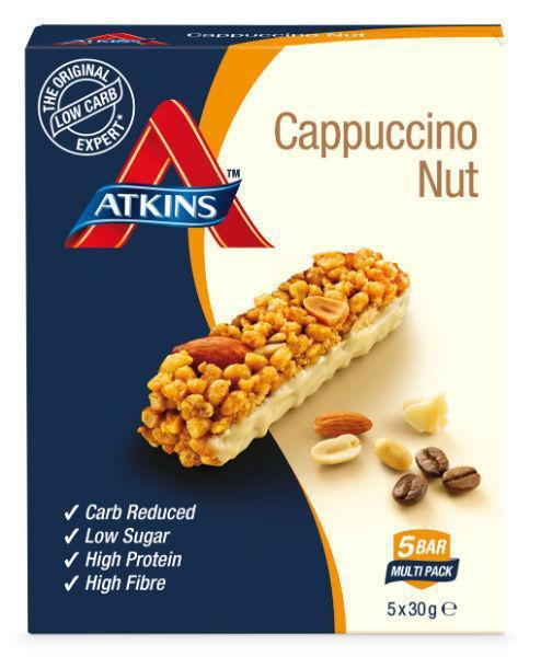 Atkins Day break capuccino nut 5x30g