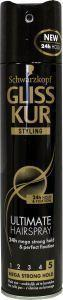 Gliss Kur Styling Ultimate Hairspray Mega Strong Hold 250ml