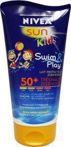 Nivea Sun Kids Swim and Play Zonnebrand Factor(spf)50 150ml