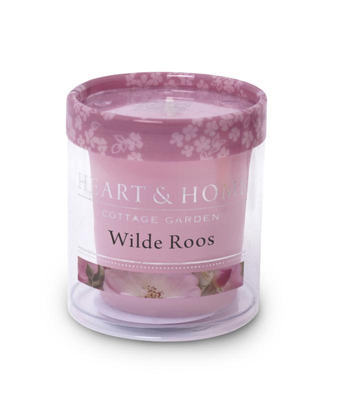 Heart & Home Votive - wilde roos 1st