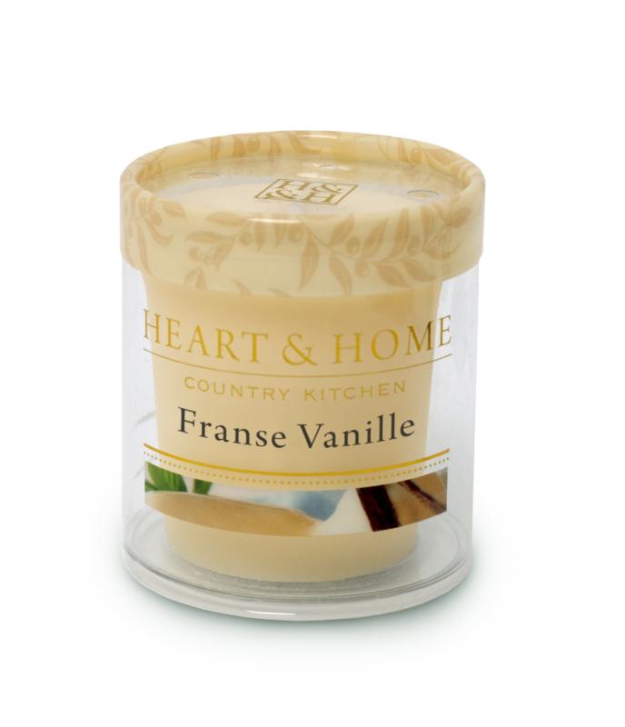 Heart & Home Votive - franse vanille 1st