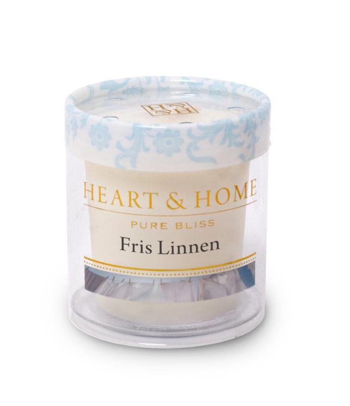Heart & Home Votive - fris linnen 1st