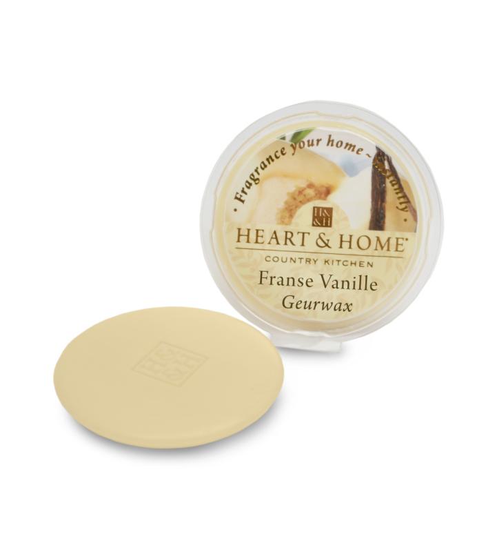 Heart & Home Geurwax - franse vanille 1st