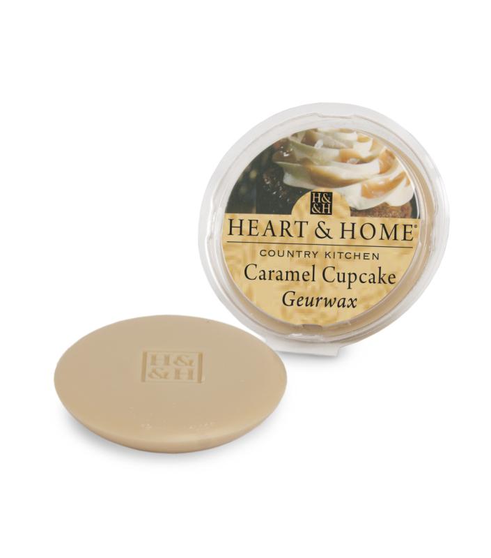 Heart & Home Geurwax - caramel cupcake 1st