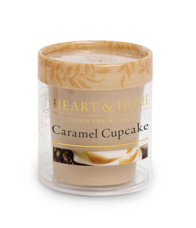 Heart & Home Votive - caramel cupcake 1st