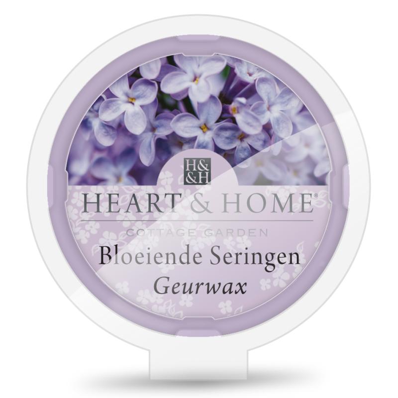 Heart & Home Geurwax- bloeiende seringen 1st
