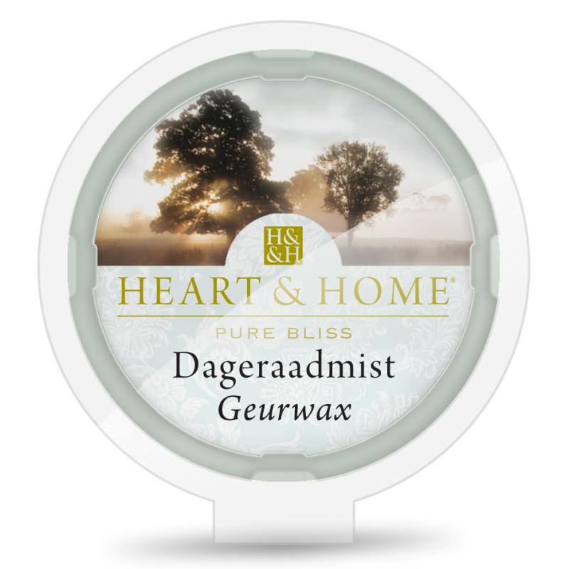 Heart & Home Geurwax - dageraadmist 1st