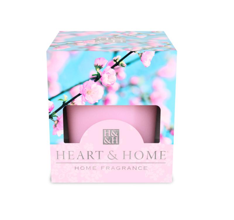 Heart & Home Votive - roze bloesem 1st