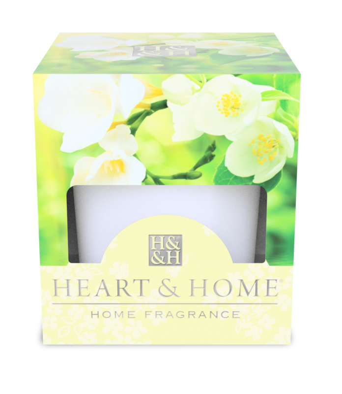 Heart & Home Votive - witte jasmijn & freesia 1st