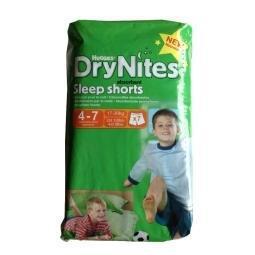 Huggies Sleepshorts 4-7 jaar 7stuks