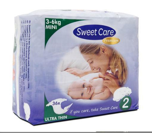 SWEETCARE LUIERS ULT.D MINI 2 36 ST