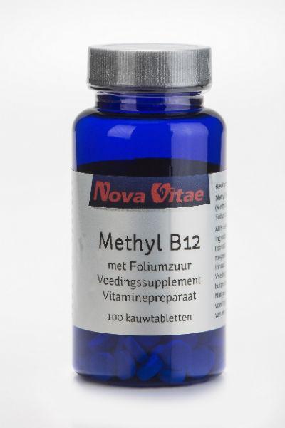 Nova Vitae Methyl B12 Foliumzuur 100kt Voordelig Online Kopen