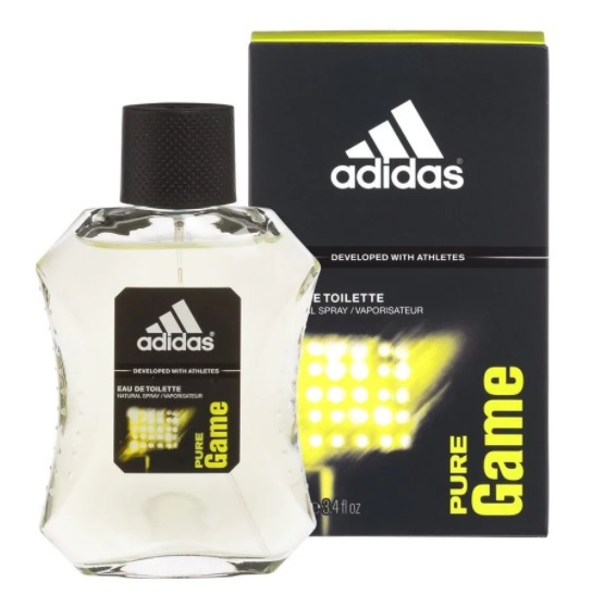 Adidas Pure Game Eau De Toilette Spray Man 50ml