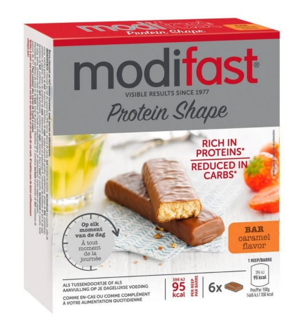 Modifast Protiplus Reep Caramel 6st