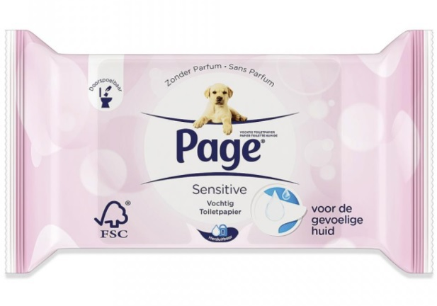 Page Vochtig Toiletpapier.Vochtig Toiletpapier Sensitive
