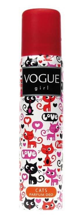 Vogue Girl Deodorant Deospray Cats 100ml