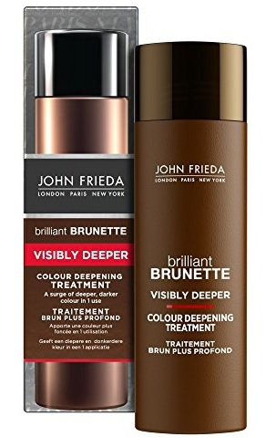 John Frieda Treatment Brilliant Brunette Visibly Deeper Colour 34 ml