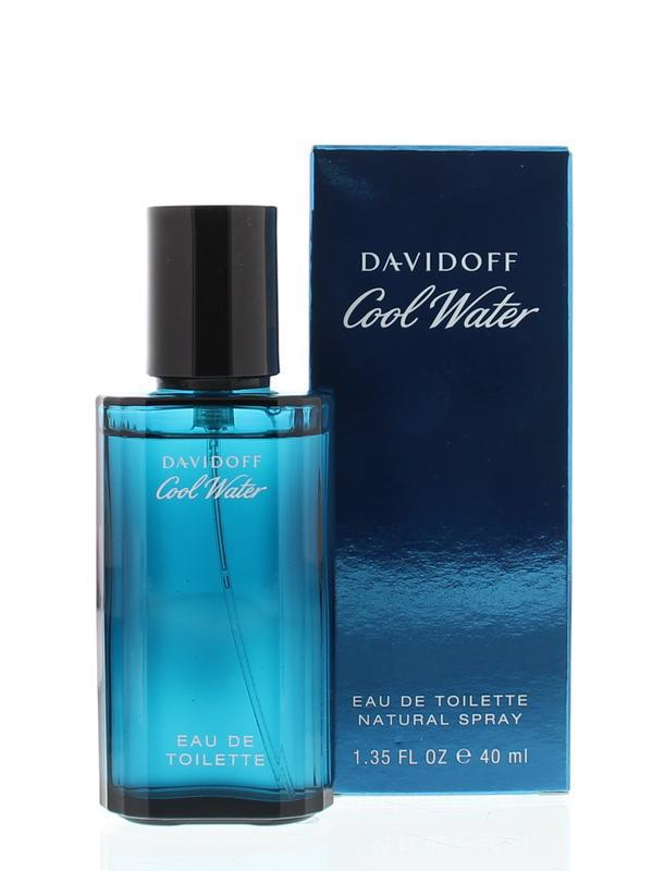 Davidoff Cool Water Homme Eau De Toilette Natural Spray 40ml