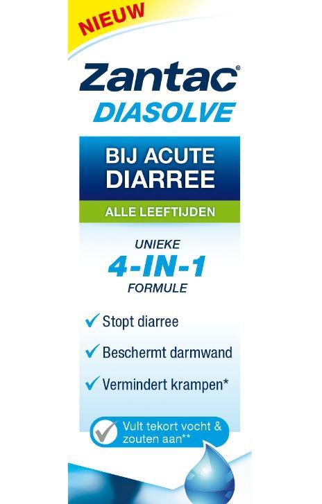 Zantac Diasolve Te Gebruiken Bij Acute Diarree Drogistnl