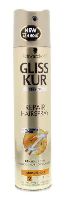 Gliss Kur Hairspray Hold + Repair 250ml