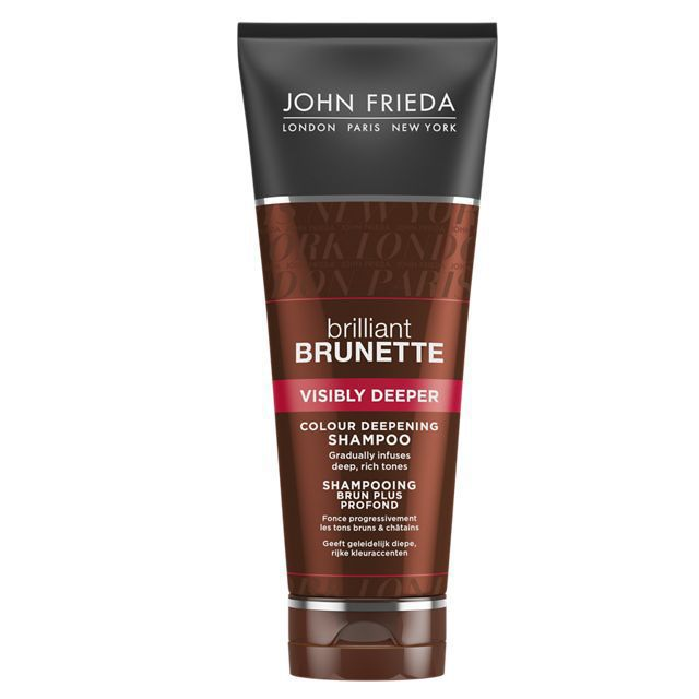 John Frieda Brilliant Brunette Shampoo Visibly Deeper