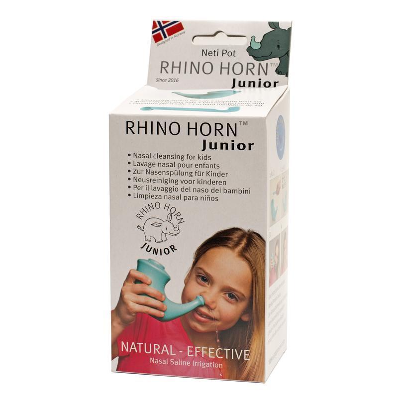 Rhino Horn Neusspoeler junior 4 tot 12 jaar 1 stuk