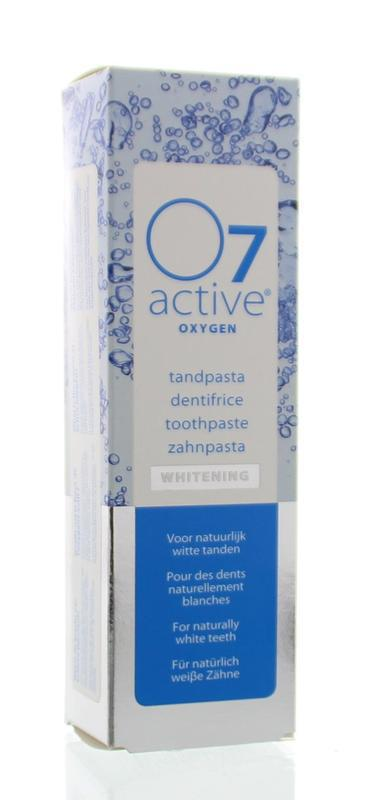 o7 active Tandpasta whitening tube 75ml