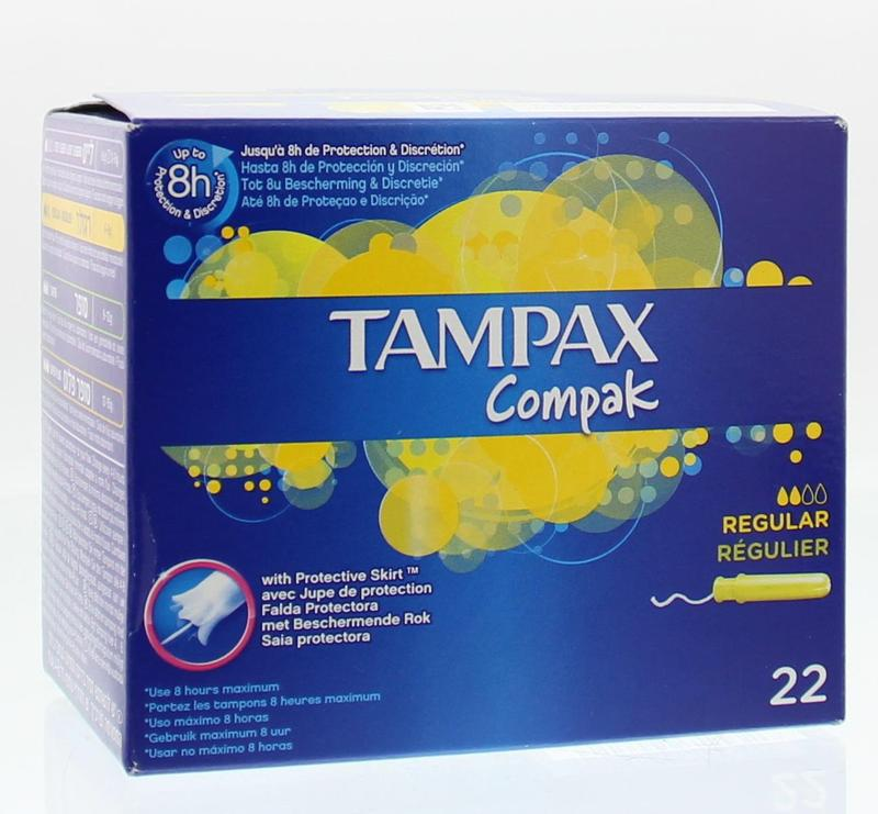 Tampax Compak regular tampons 22st