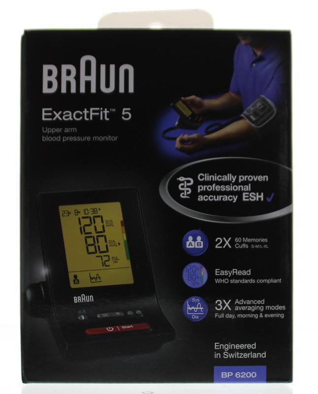 Braun Bloeddrukmeter Bp6200 Arm Stuk