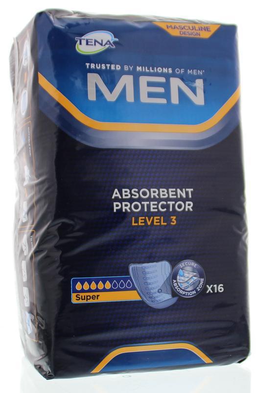 Tena Men Incontinentie Level 3 16stuks