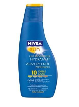 Nivea Sun Zonnebrand Zonnemelk Factor(spf)10 200ml