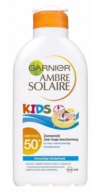 Garnier Ambre Solaire Zonnebrand Resisto Kids Beschermend Factor(spf)50+ 200ml