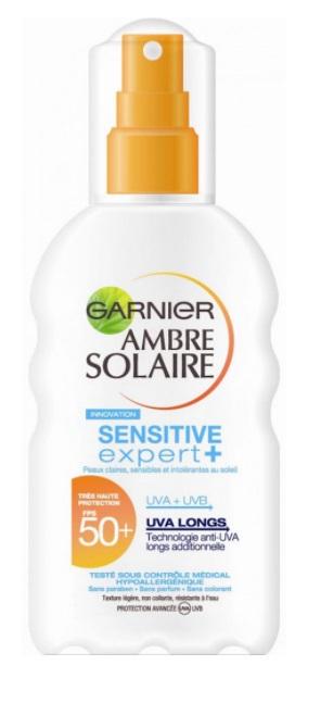 Garnier Ambre Solaire Zonnebrand Melk Spray Uv Factor(spf)50 200ml