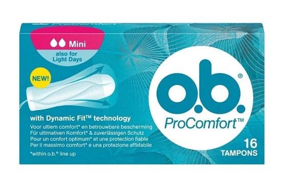 Ob Procomfort tampons mini 16 stuks
