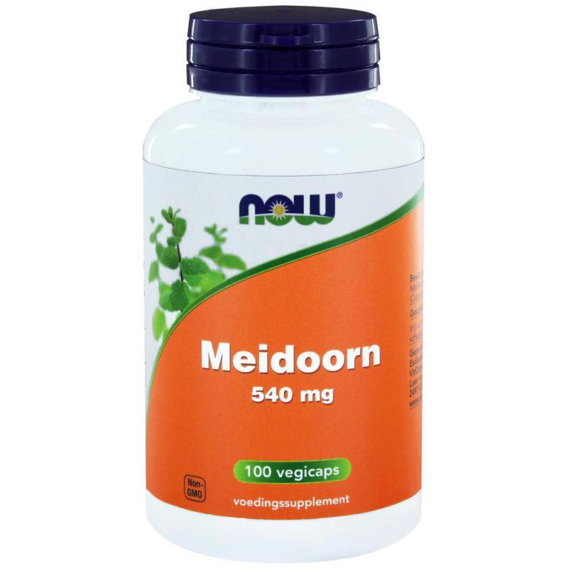 Now Meidoorn 540mg 100cp