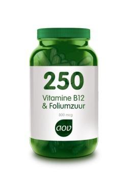 Aov 250 Vitamine B12 Foliumzuur Vandaag Besteld Morgen In Huis