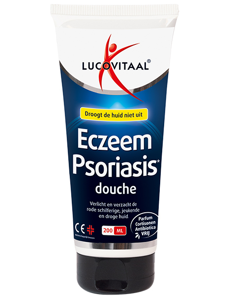Lucovitaal Eczeem & psoriasis douchegel 200ml
